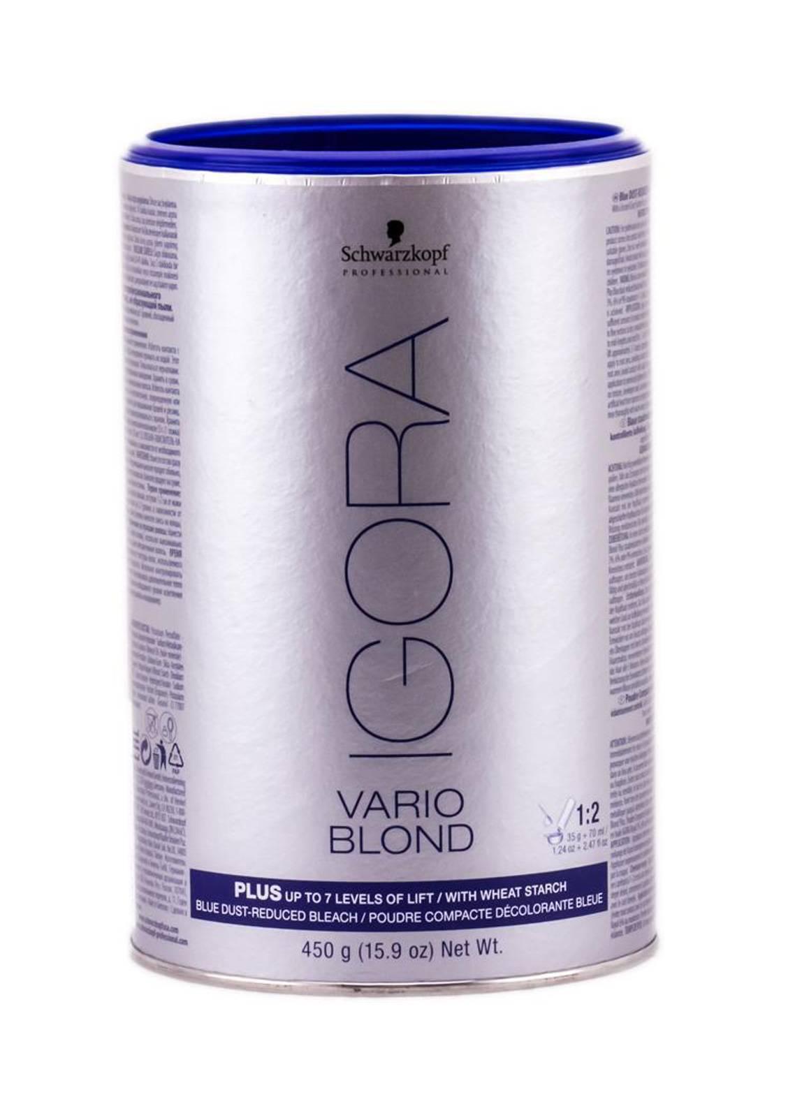 Schwarzkopf Professional Igora Vario Blond Plus - 450gm