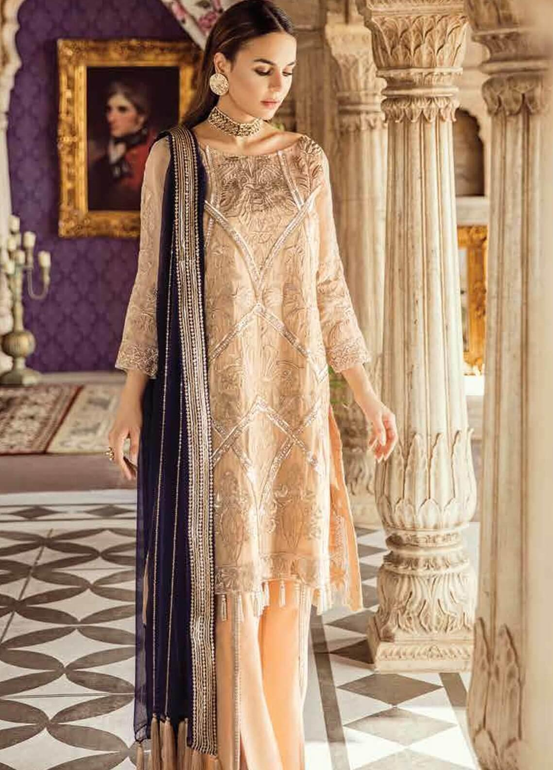 Imrozia by Serene Embroidered Missouri Unstitched 3 Piece Suit SEI19KM 810 ROSHAANI-E-KUNDAN - Luxury Collection