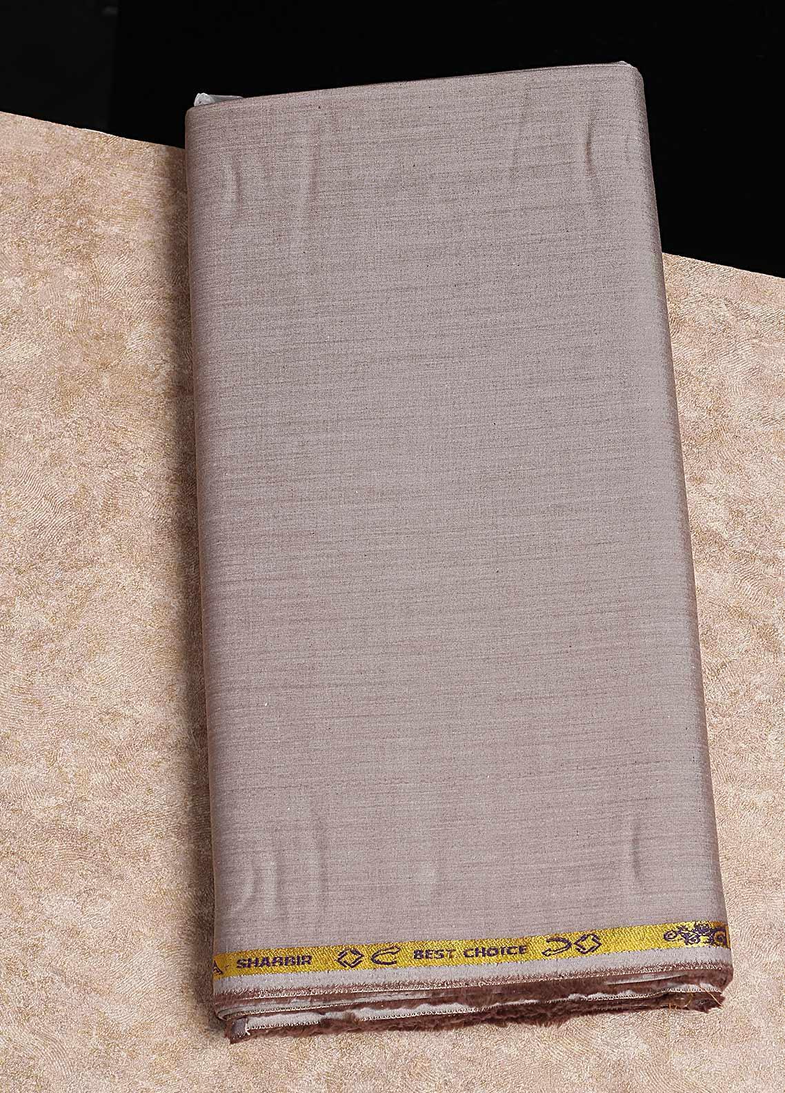 Shabbir Fabrics Plain Chambray Unstitched Fabric SHB-0055 MUSTARD - Summer Collection