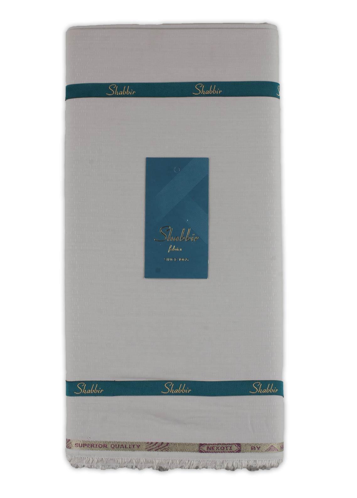 Shabbir Fabric Plain Wash N Wear Unstitched Fabric SHBF-0015 BEIGE - Summer Collection