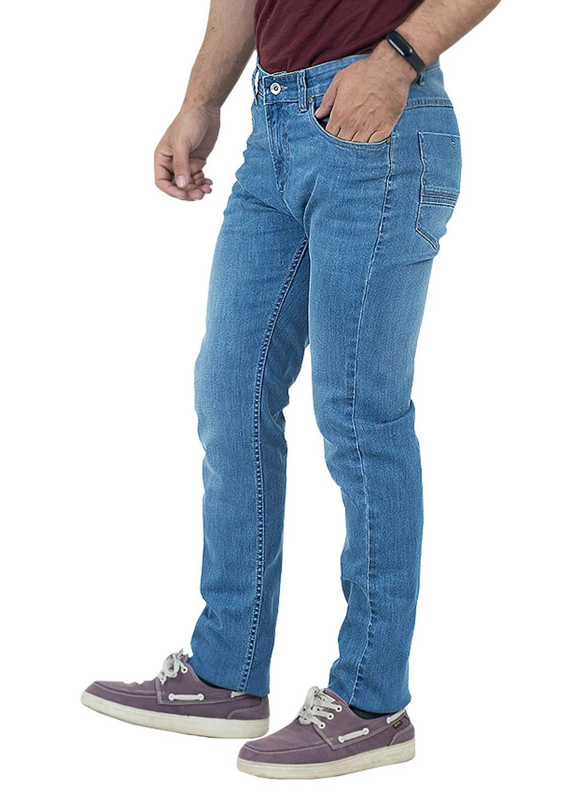 Shahzeb Saeed Denim Casual Men Jeans - Blue DNM-96