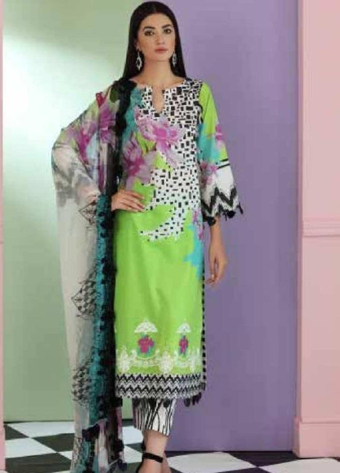 Sheen by Charizma Embroidered Lawn Unstitched 3 Piece Suit SHN19-L3 27 - Mid Summer Collection