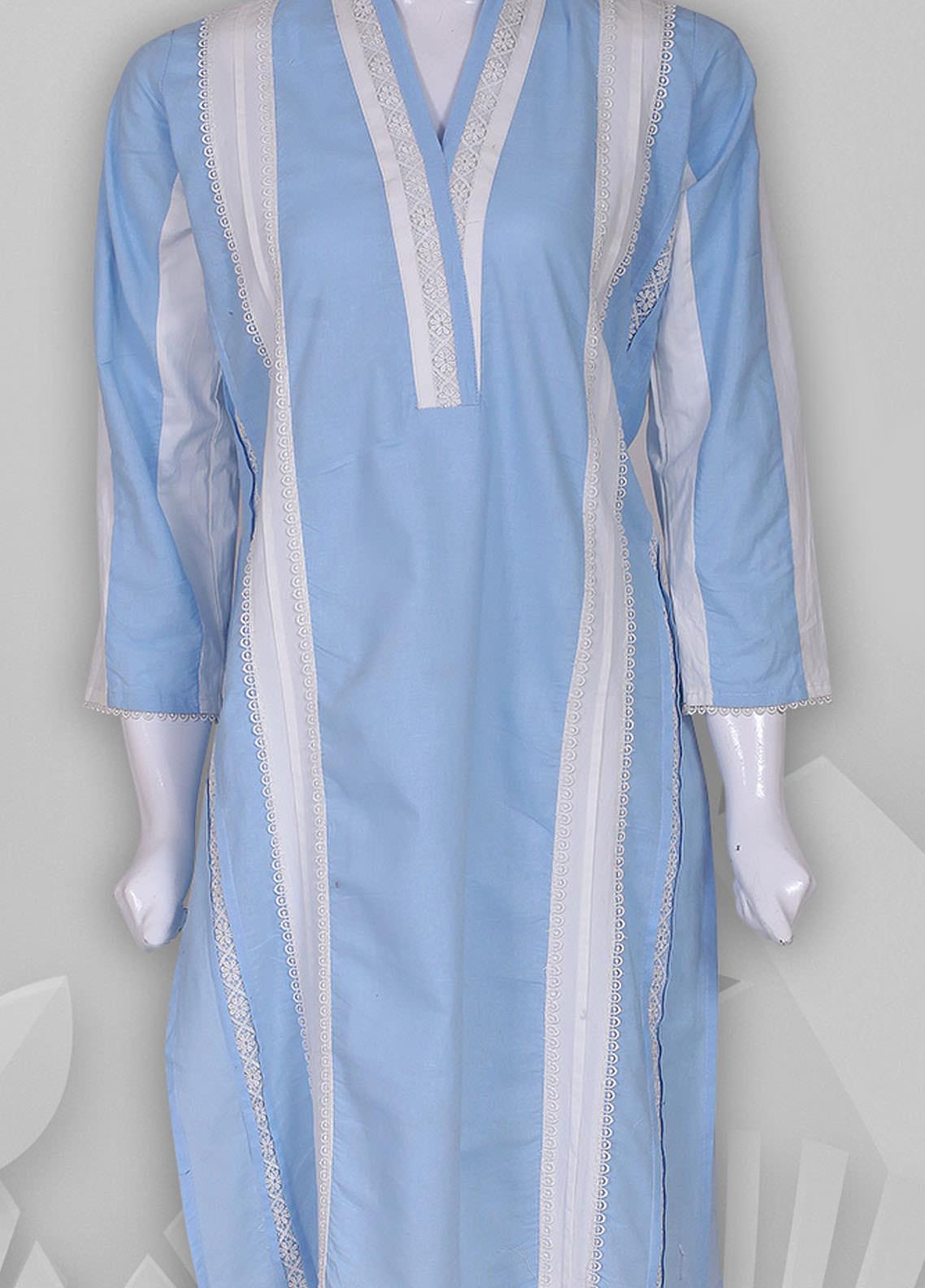 Sheep Casual Cotton Stitched Kurti SC200542 BLUE