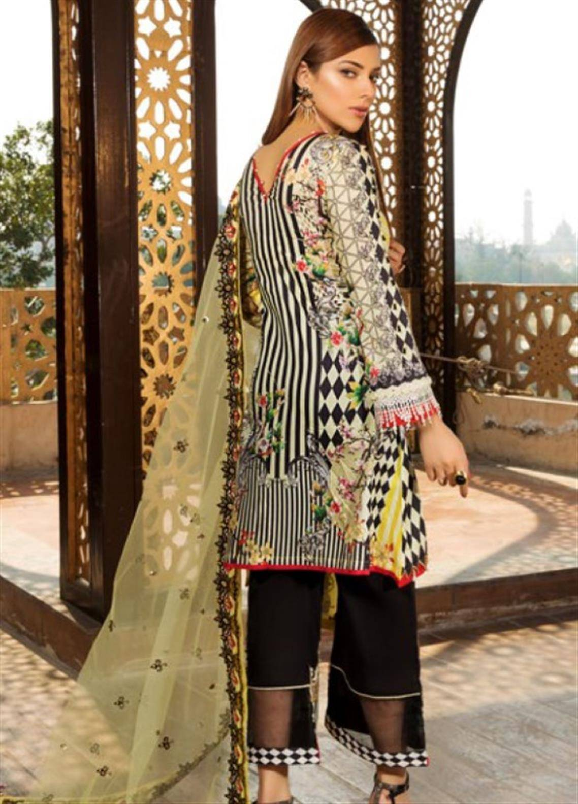 b0bac3050b9 Sifona Marjaan Luxury Lawn 2019 Collection | Spring/Summer Lawn ...
