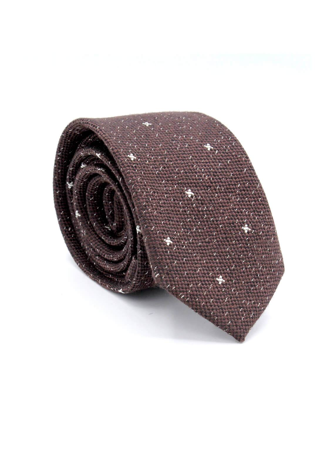 Skangen Narrow Wool Neck Tie Neck Tie SKTI-W-004 -