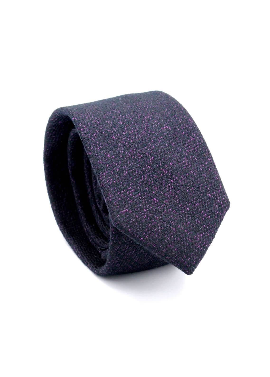 Skangen Narrow Wool Neck Tie Neck Tie SKTI-W-007 -