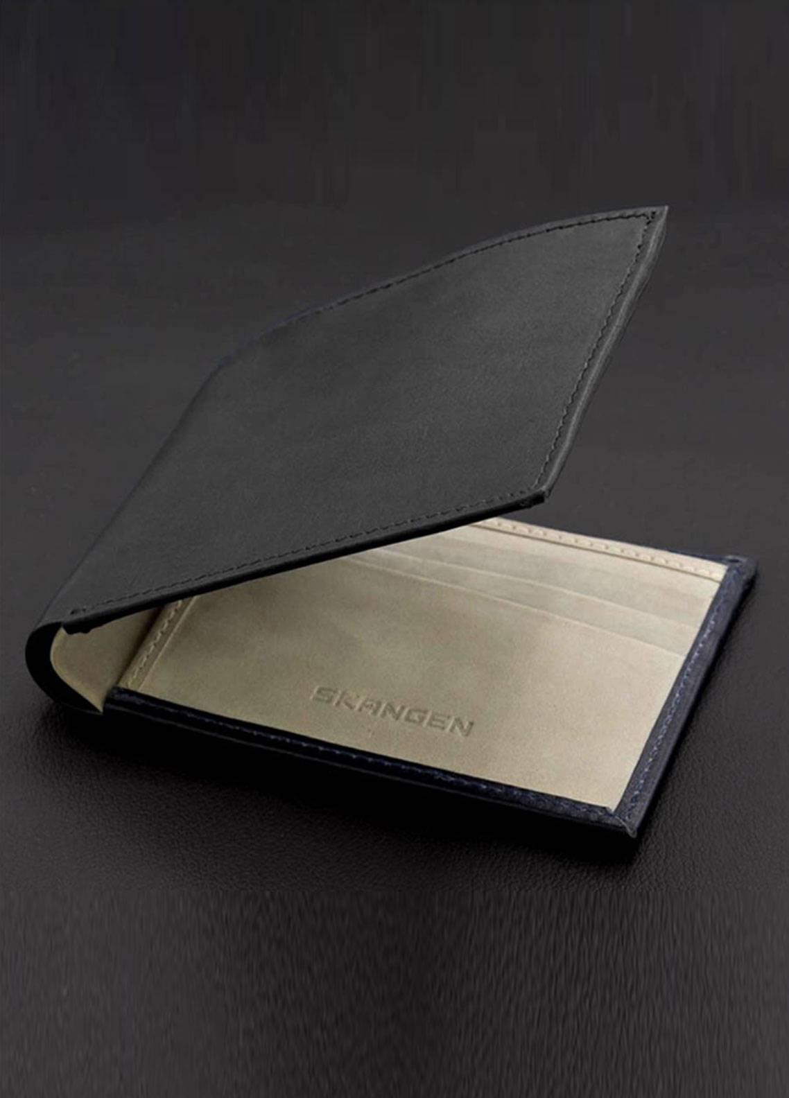 Skangen Milled Extreior Premium Cow Leather  Wallets SKWT-1007 - Men's Accessories