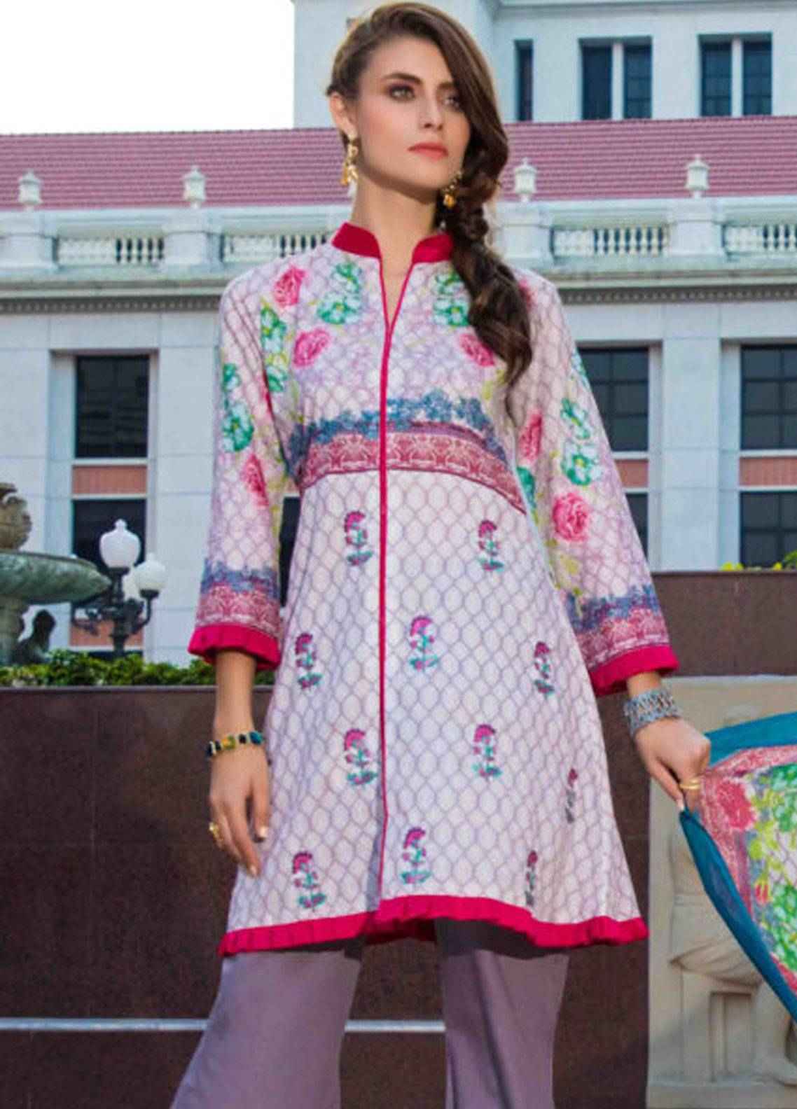 Subata by Regalia Embroidered Lawn Unstitched 3 Piece Suit SBR19L 5A - Spring / Summer Collection