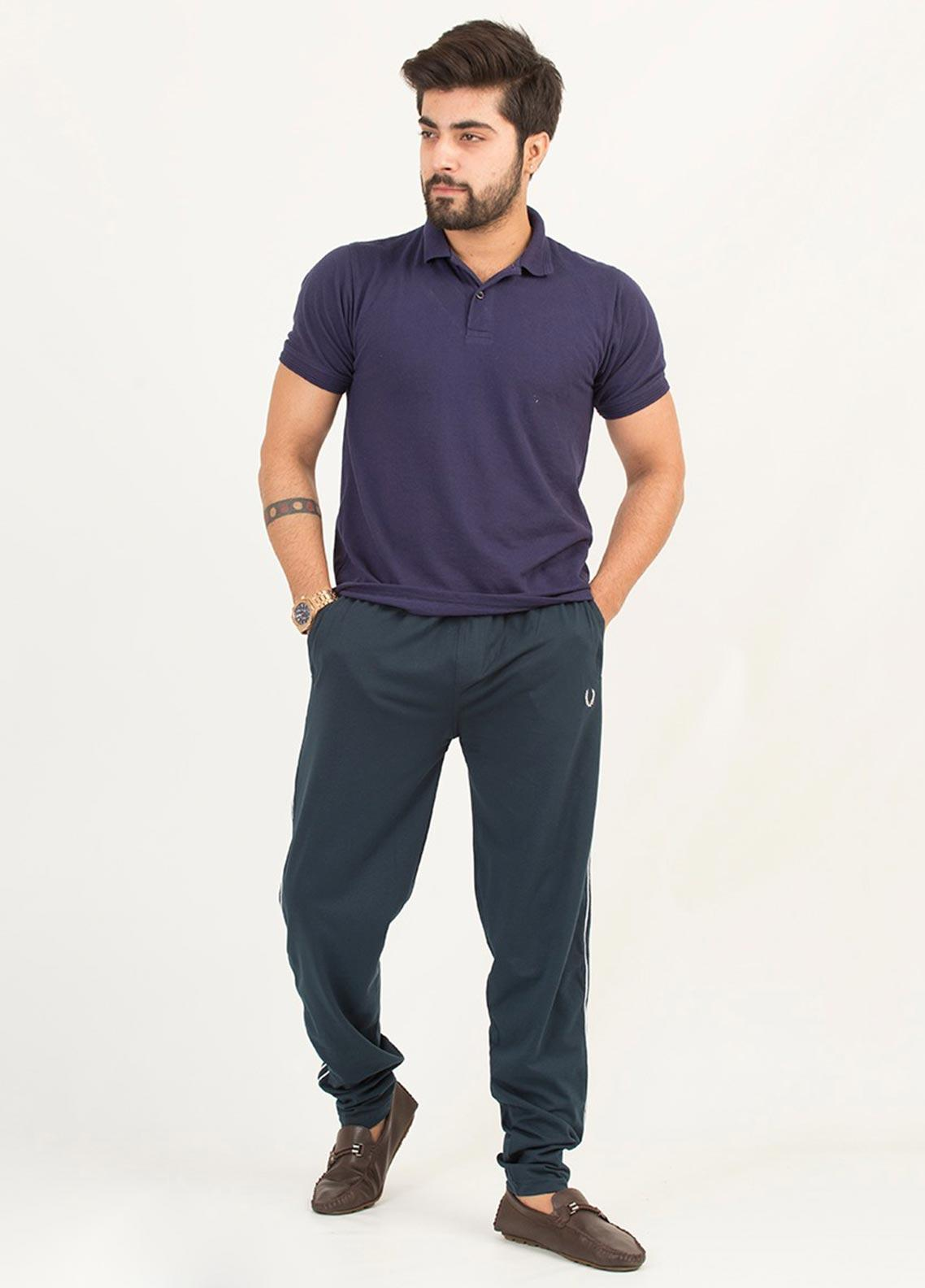 UC Clothing Lycra Casual Men Trousers - 04 Ink