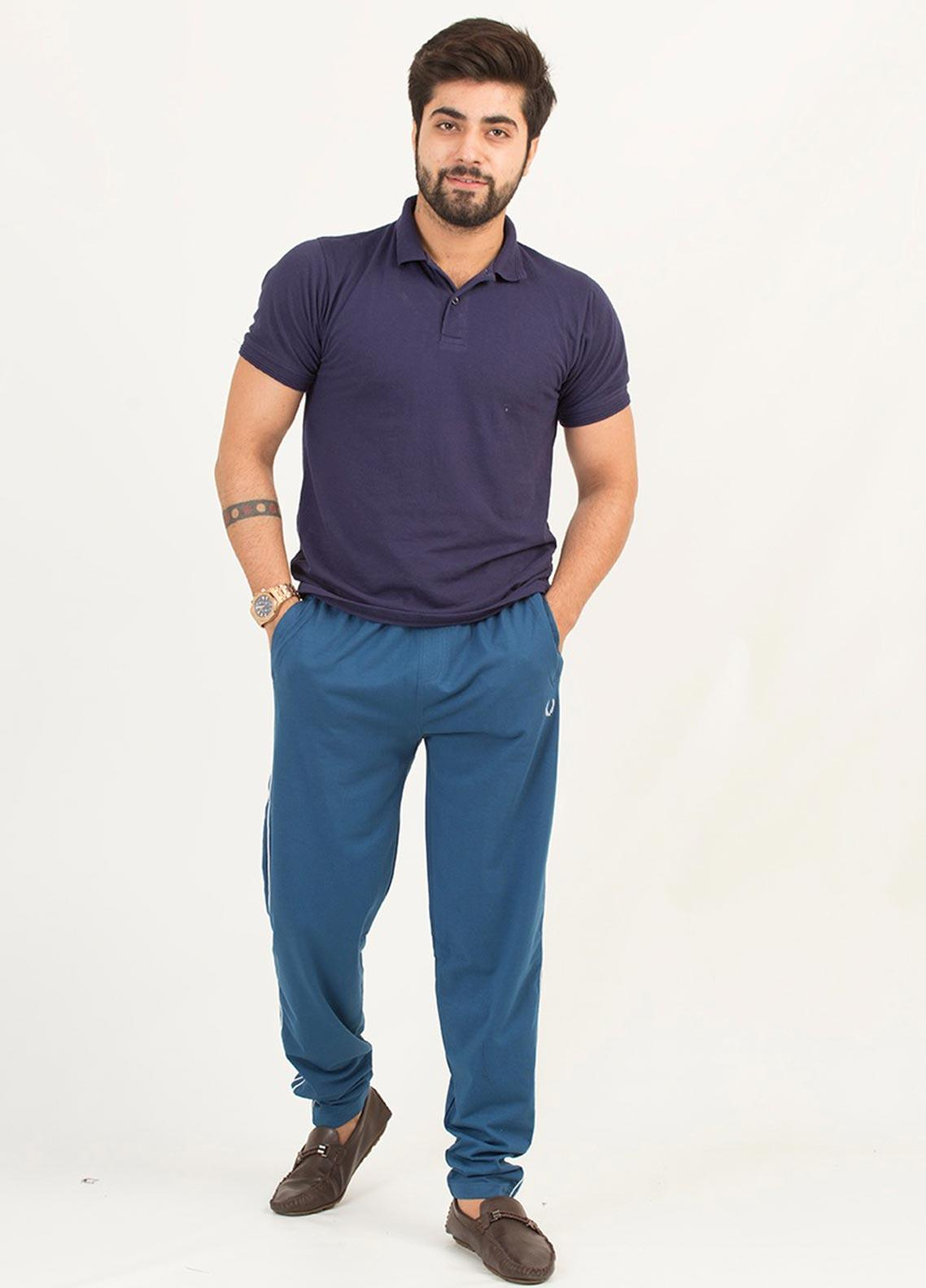 UC Clothing Lycra Casual Men Trousers -  4024 Green
