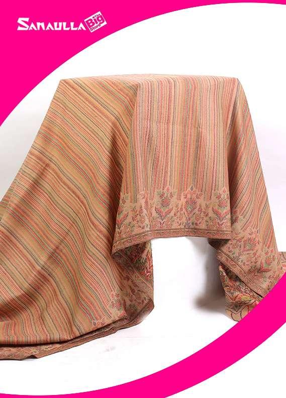 Sanaulla Exclusive Range Jamawar Pashmina  Shawl 64 - Formal Collection