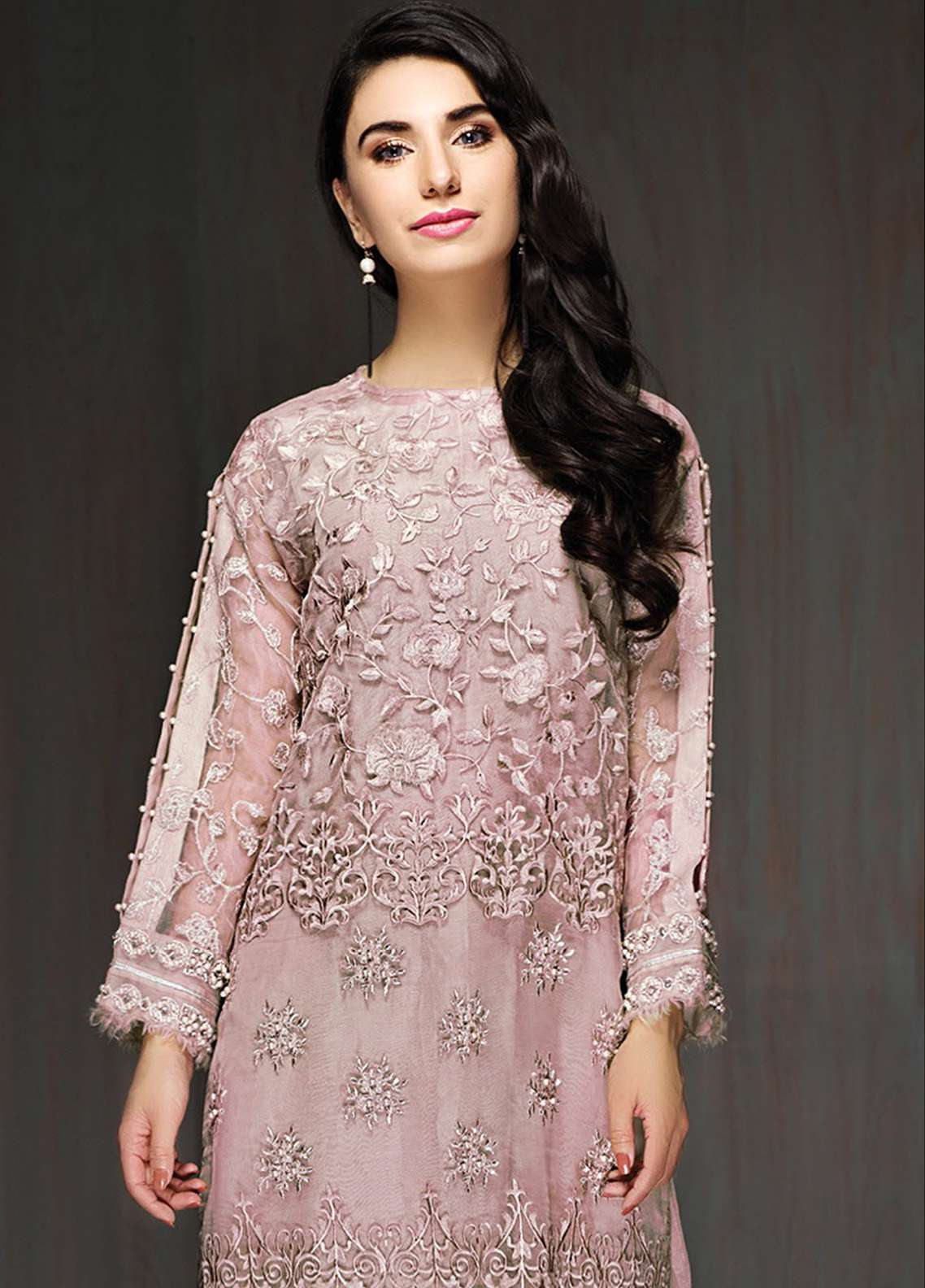Xenia Embroidered  Stitched Kurtis XE18P 07