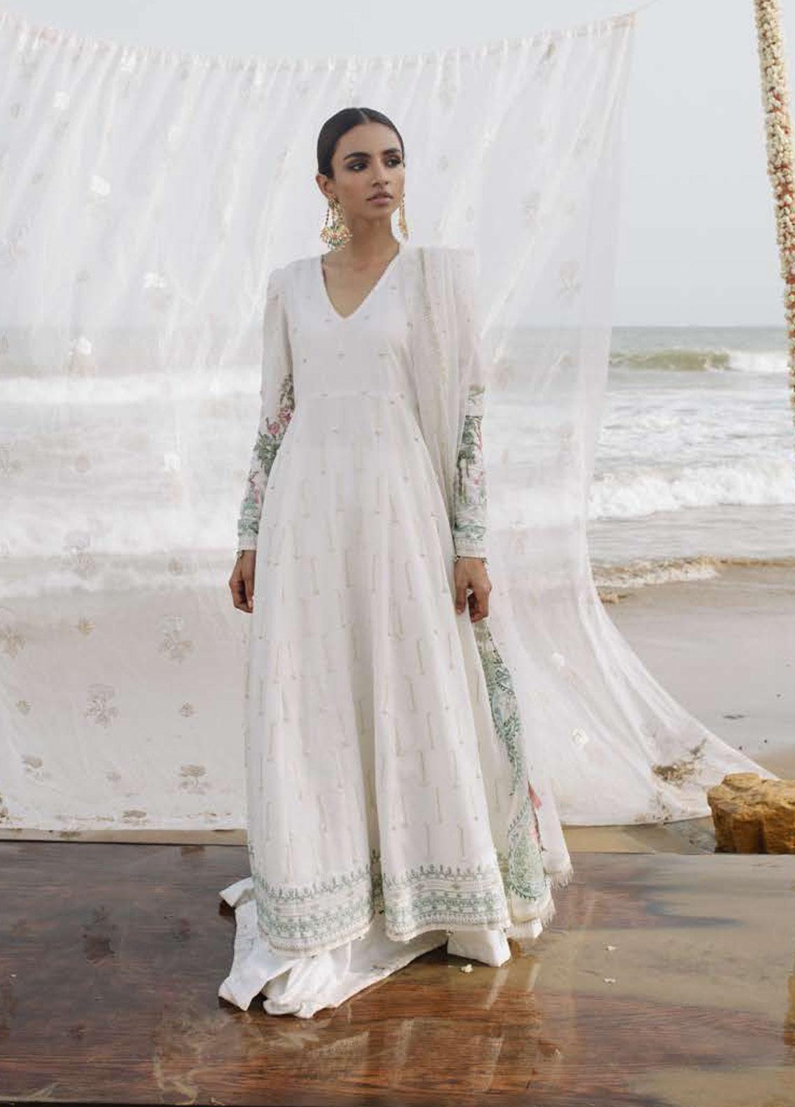 Zara Shahjahan Embroidered Lawn Unstitched 3 Piece Suit ZSJ19LH 2 CHANDNI - Festive Collection