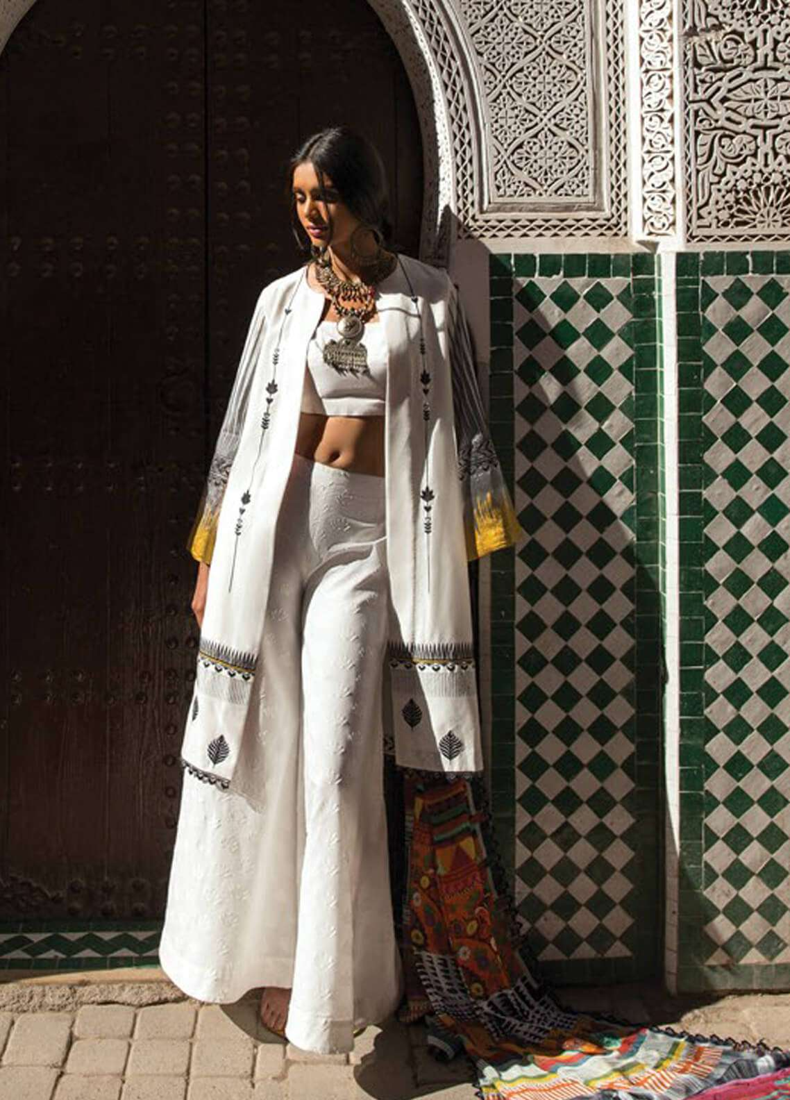 Zara Shahjahan Embroidered Lawn Unstitched 3 Piece Suit ZSJ19L MARRAKESH A - Spring / Summer Collection