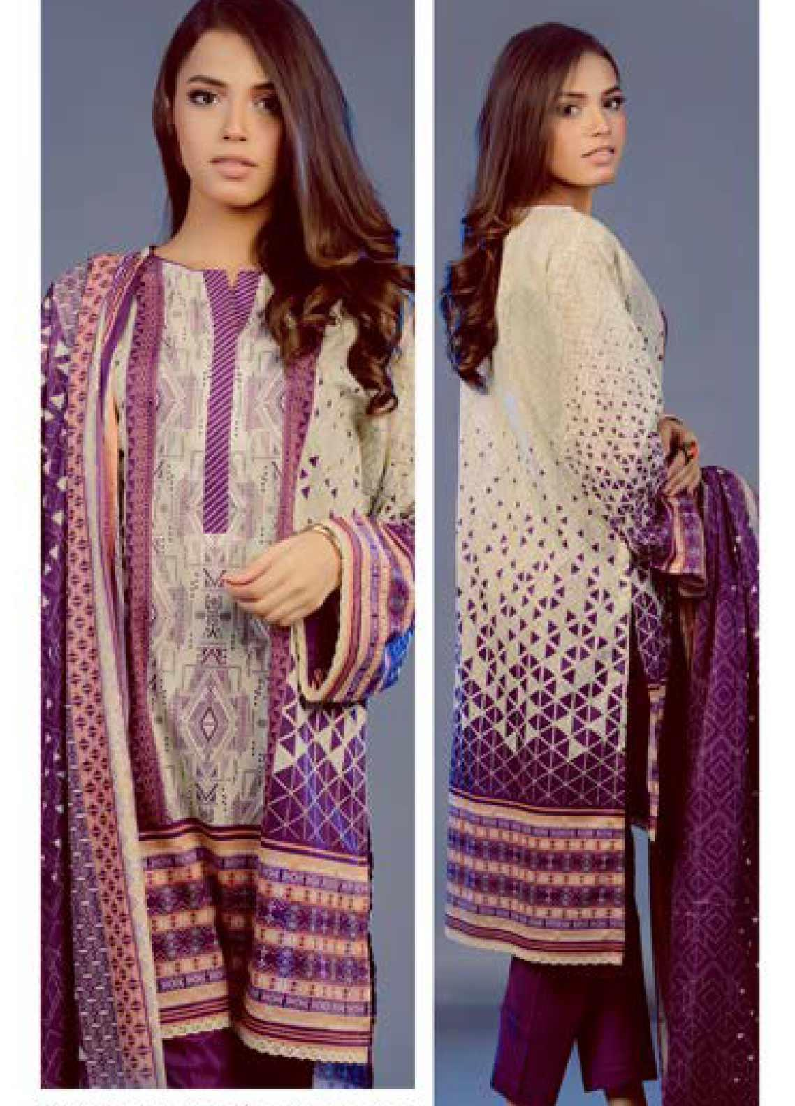 Zellbury Printed Lawn Unstitched 2 Piece Suit ZB20L ZW220195 - Spring / Summer Collection