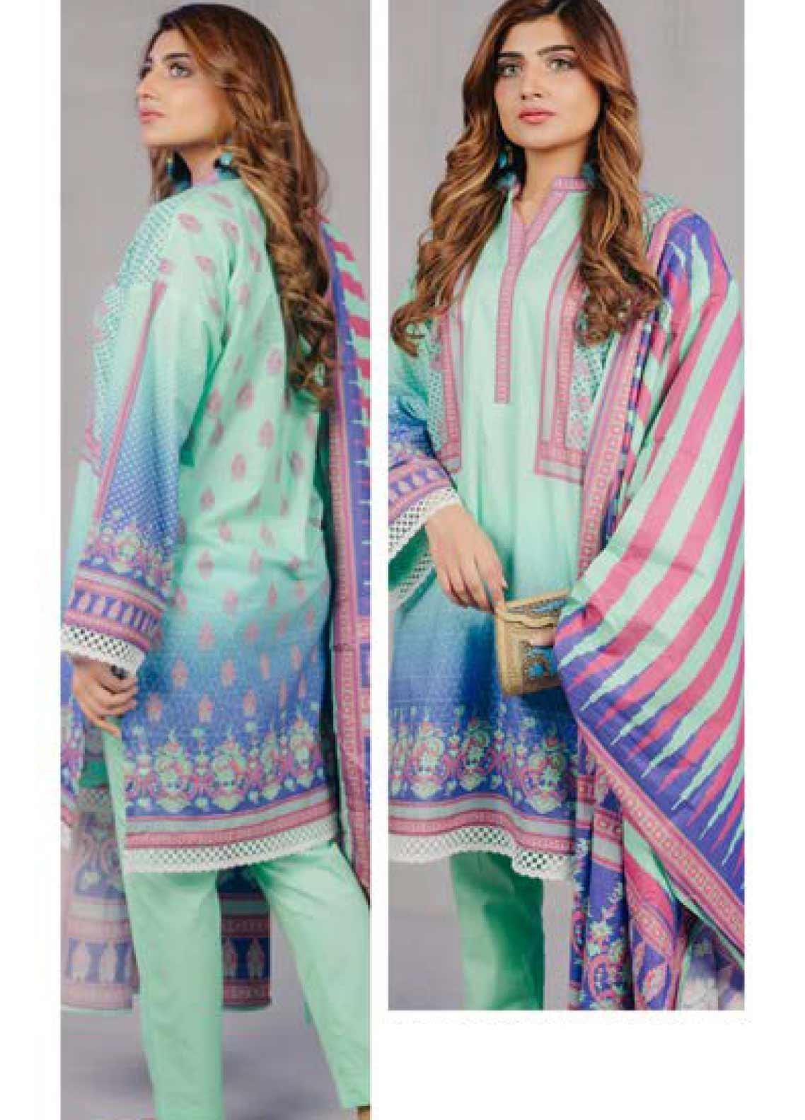Zellbury Printed Lawn Unstitched 3 Piece Suit ZB20L ZW320207 - Spring / Summer Collection