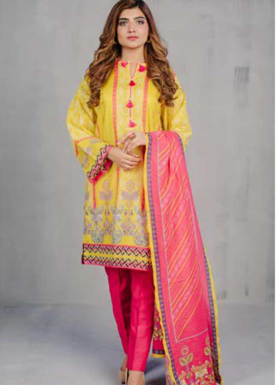 Zellbury Printed Lawn Unstitched 3 Piece Suit ZB20L ZW320215 - Spring / Summer Collection