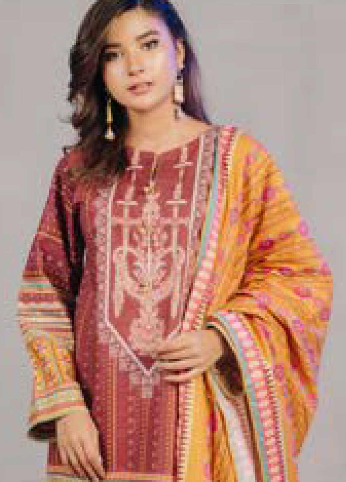 Zellbury Printed Lawn Unstitched 3 Piece Suit ZB20L ZW320235 - Spring / Summer Collection
