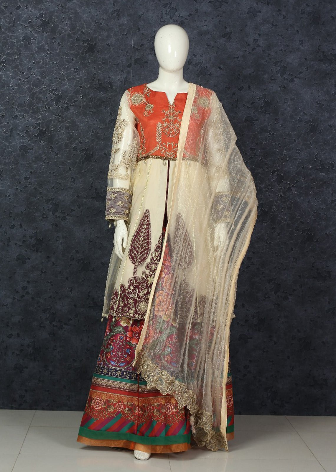 Suits with Lengha or Sharara