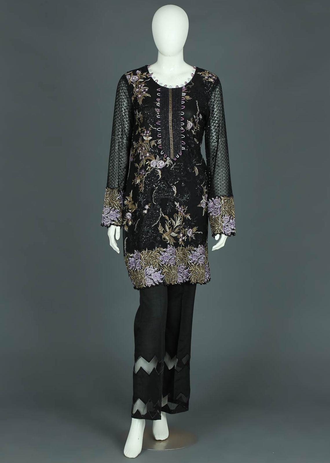 Chiffon or Net suits